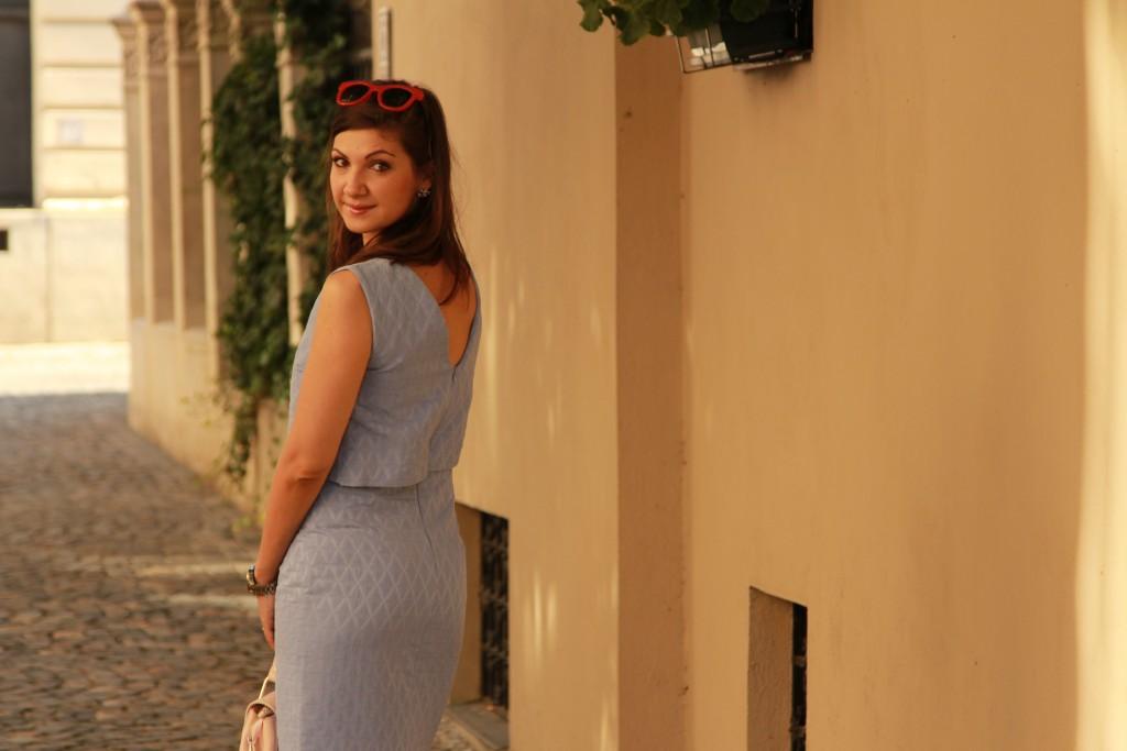 rochie bleu