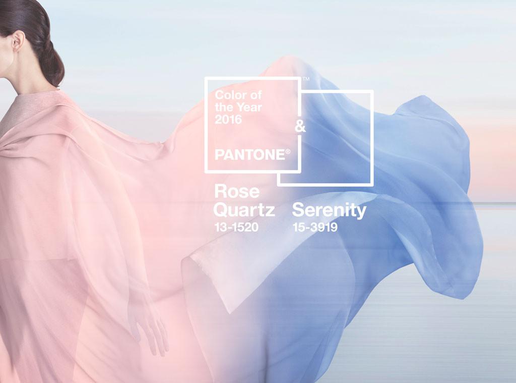 Rose Quartz si Serenity, culorile anului 2016