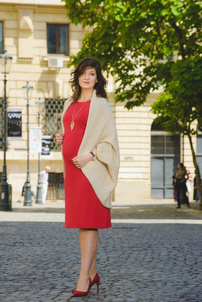 tinute gravide; rochie gravida