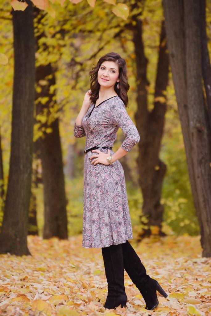 Rochie cu imprimeu SenseFashion, marimea 36, pret 80 RON