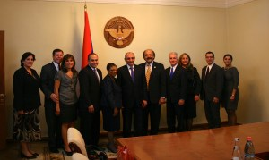 Delegation with President
