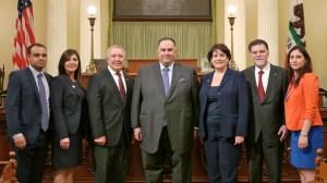 ANCA WR Leadership with Speaker Perez