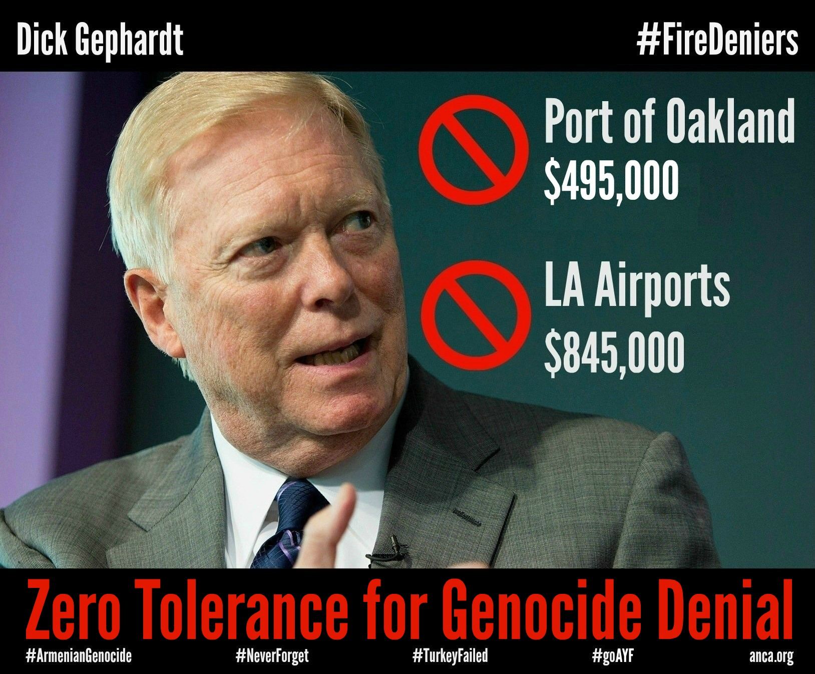 Dick gephardt statements about internet