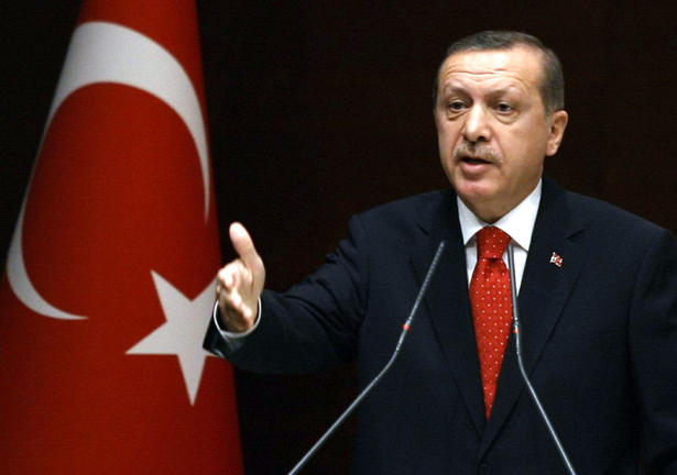 Erdogan during party meeting Dec 4 2012