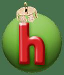 alphabet-boule-noel-vert-h