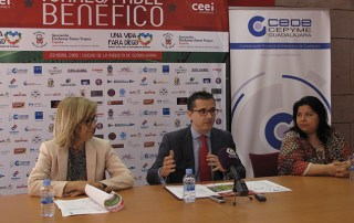 """Presentado el torneo de pádel benéfico """"Una vida para Diego"""" organizado por CEEI Guadalajara"""