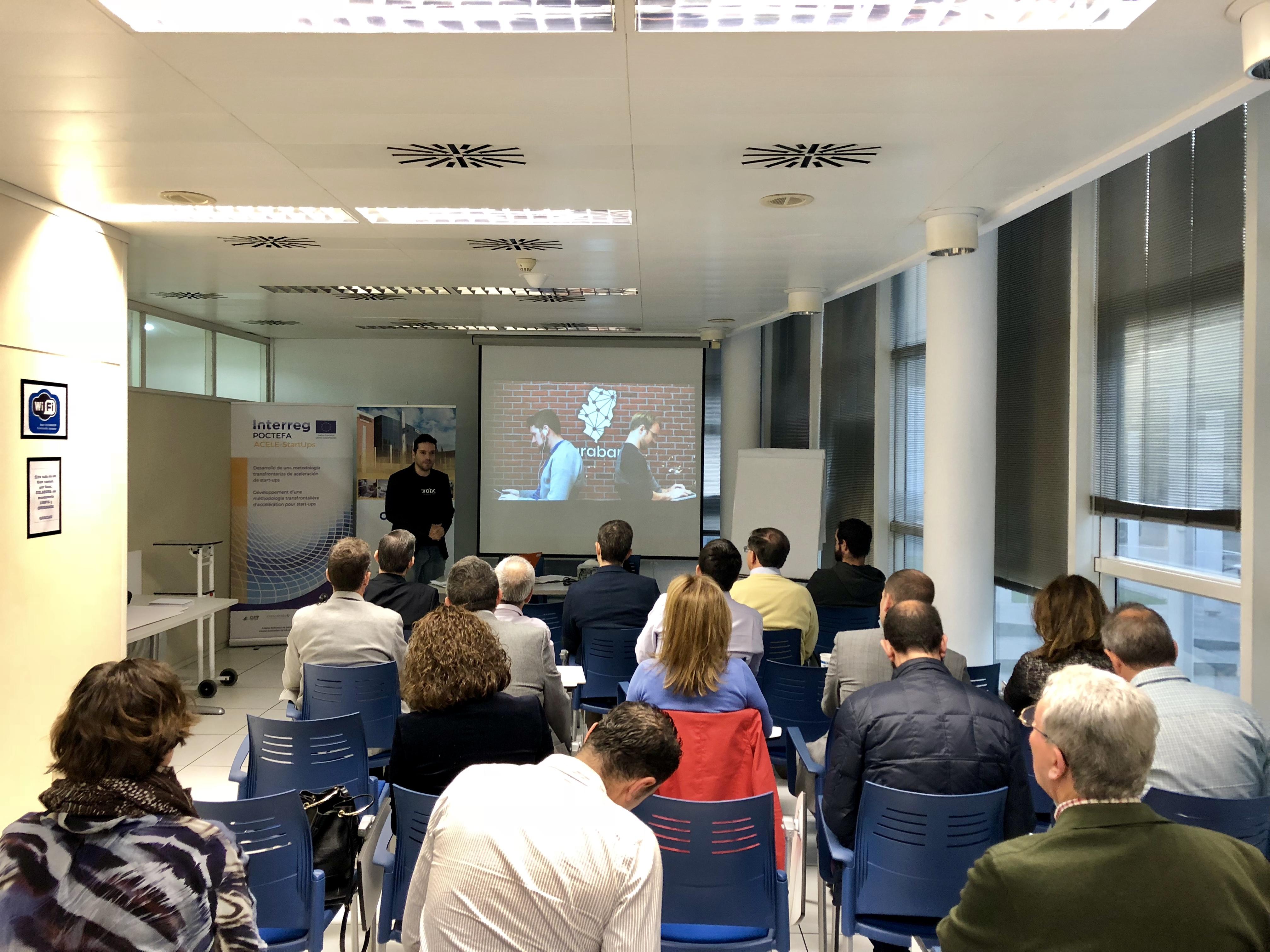 Desayuno tecnológico en CEEIARAGON con presentación de ARABAN, Red Aragonesa de Inversores Privados