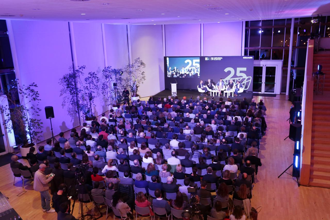 El 25 Aniversario de BIC Gipuzkoa subraya su valor estratégico en el ecosistema emprendedor