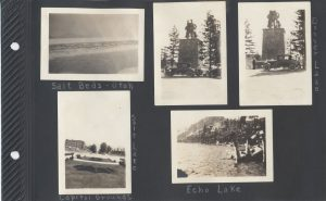 More from Donner Lake and Echo Lake on the way to the Salt Beds of Utah and Salt Lake City
