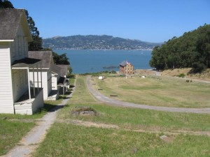 Camp Reynolds (West Garrison), Angel Island, CA. Photo by Stephen Gross, June 2005