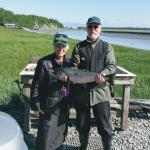Fishers at Kenai River Drifter's Lodge in Cooper Landing AK