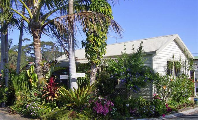 Pet friendly Koala Cottages - Anchorage Holiday Park in Iluka