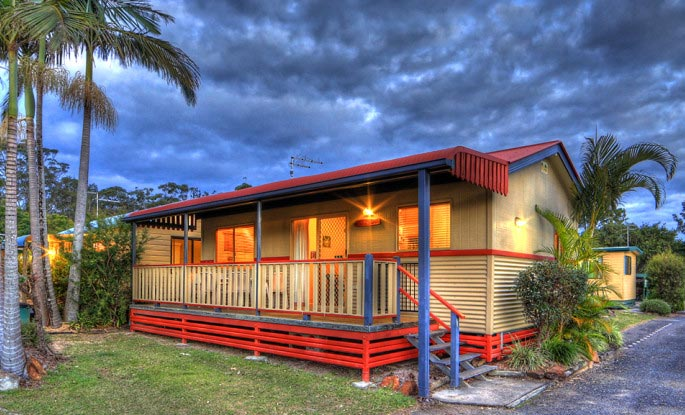 Deluxe cabins - Anchorage Holiday Park in Iluka