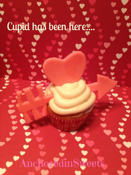 Valentine's Day Cupid Cupcake
