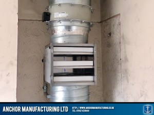 A carbon filter grease extraction unit.