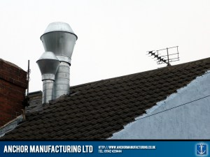 Air extraction ducting silencer.