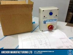 gas interlock safety panel