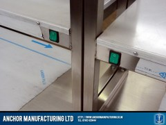 Hot Cupboard integrated heated gantry