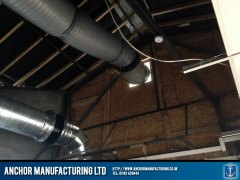 kitchen canopy ducting
