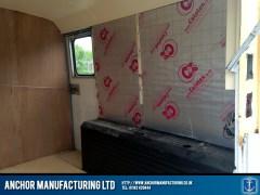 Catering Van retrofit inside