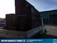 Anchor Manufacturing Delivery Van Loaded