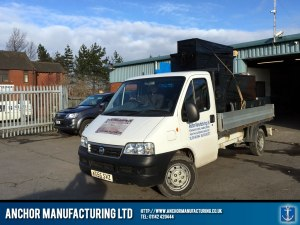 Anchor Manufacturing Delivery Van