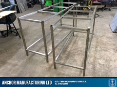 steel kitchen wallbench frame sheffield