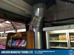 extraction ducting to outside
