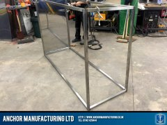 Sheffield stainless steel storage fabrication sheffield front frame