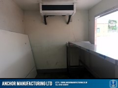fabricated butchers van internal