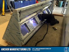 Kitchen Canopy Steel welding