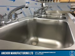 kitchen sink polished