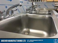 kitchen sink polished