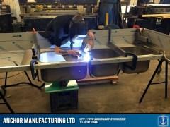stainless-steel-sink-welding-process