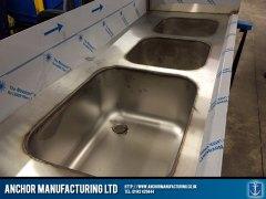 welding in sink points