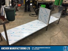 sink frame fabrication