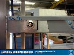 stainless steel hot cupboard variable lamp regulator