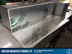 stainless steel cupboard insulation installation