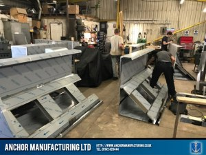 10 metre extra large kitchen canopy segments