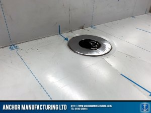 Stainless Steel Mortuary Table Drainage