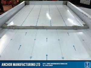 Stainless Steel Mortuary Table slider