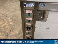 Stainless Steel custom hot cupboard power options