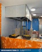 Captain wills pub kitchen refit canopy side