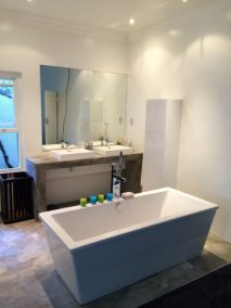 Anchor Property Group - Bathroom free standing tub and basin redesign