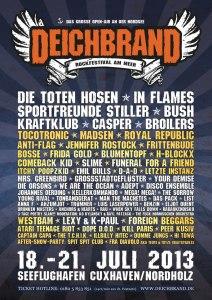 Deichbrank Poster 2013
