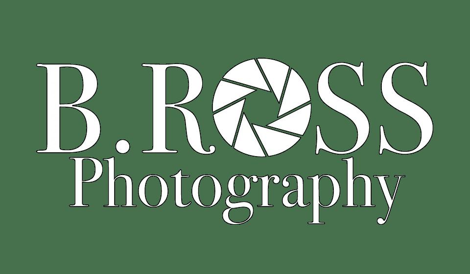 B. Ross Photograph Logo Design