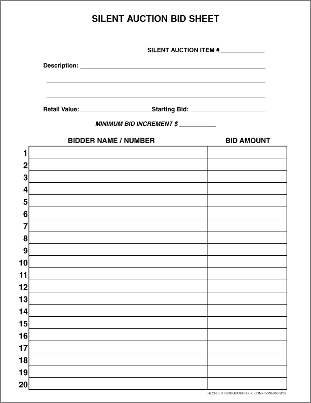 fundraising spreadsheet template