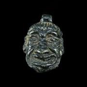 A Babylonian Stone Pendant of Humbaba