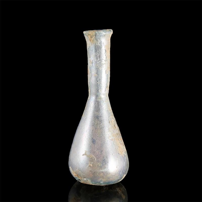 Ancient Roman Iridescent Unguentarium