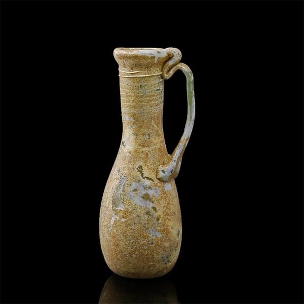 Ancient Roman Piriform Amphoriskos